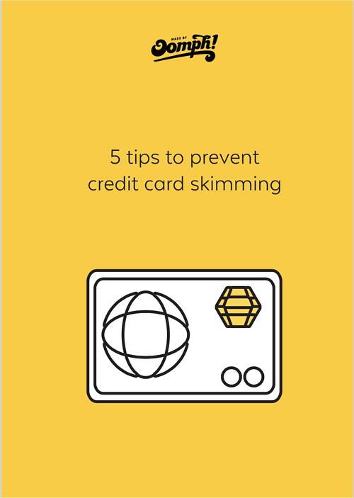 5 tips to prevent RFID credit card skimming front cover | Made by Oomph.png